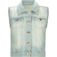 HIGHWAY Girls Denim Vest