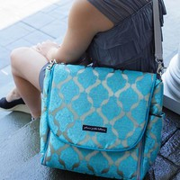 Exclusively Posh Mosaic Roll Boxy Backpack by Petunia