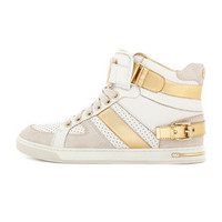 MICHAEL Michael Kors Fulton Metallic High-Top Sneaker