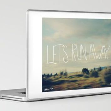 Let's Run Away Laptop & iPad Skin by Leah Flores | Society6
