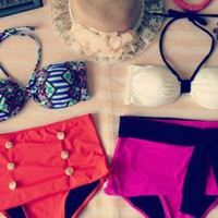 Pinup Vintage Inspired Swim Suit