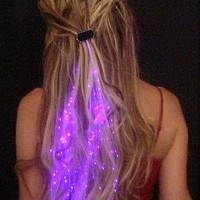 Starlight Strands Illuminating Hair Extensions
