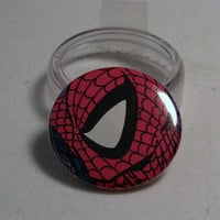 Comic Book 1.5&quot; Button// Spider-Man