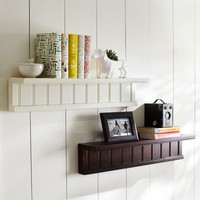 Beadboard Single Shelf