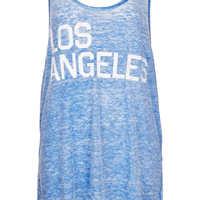 LA Burnout Vest - New In This Week - New In - Topshop