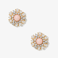 Sparkling Snowflake Studs | FOREVER 21 - 1040494950