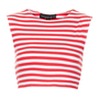Petite Stripe Stretch Crop Tee - Petite - Clothing - Topshop
