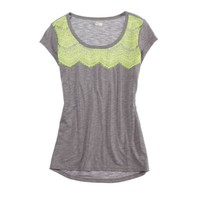 Aerie Lace Yoke Tee | Aerie for American Eagle