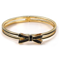 double bow hinged bangle