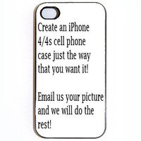 iPhone 4 4s Case Custom Personalized Iphone Case by KustomCases