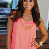 Swing Into Summer Top: Neon Pink | Hope&#x27;s