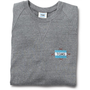 Women&#x27;s Heather Grey Embroidered Crew
