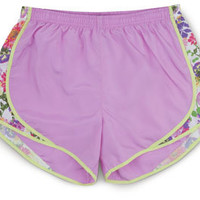 Garden Retreat Running Shorts