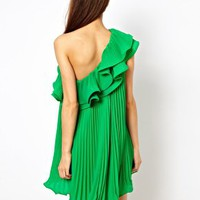 Three Floor Whistle Dress at asos.com