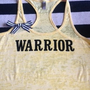 Warrior Burn out Racer-back Tank