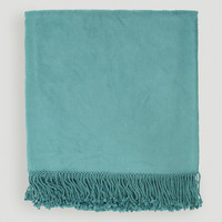 Teal Tatum Throw