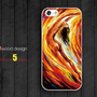 Rubber iphone 5 cases gold falls painting  Hard case iphone 4 case iphone 5 cover the best iphone case unique design