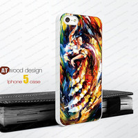 Rubber iphone 4 cases dance painting  Hard case iphone 4 case iphone 5 cover the best iphone case unique design