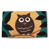 Wise Owl Non-slip Doormat | Overstock.com