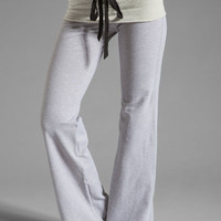 Tylie French Terry Wide Leg Pant in Heather from REVOLVEclothing.com