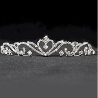 [9.67] Elegant  Rhinestones & Alloy Tiara For Your Fabulous Wedding Dress - Dressilyme.com