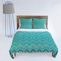 DENY Designs Home Accessories | Ingrid Padilla Turquoise Whim Duvet Cover