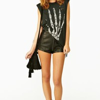 Skeleton Hand Muscle Tee