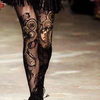 Very Very Cool Lace Tights