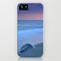 Hidden stone at sunset iPhone & iPod Case by Guido Montañés