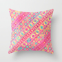 summer sunned Throw Pillow by Sharon Turner