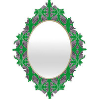 DENY Designs Home Accessories | Paula Ogier Jade Baroque Mirror