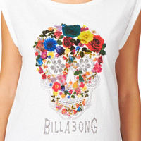 Billabong Dia Top - White
