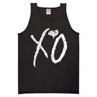 XO THE WEEKND Tank Top drake BLACK weekend ovoxo YOLO S - XXL