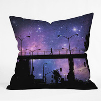 DENY Designs Home Accessories | Shannon Clark Night Walk Throw Pillow