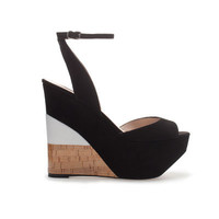 COMBINED WEDGE - Wedges - Shoes - Woman - ZARA United States