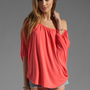 James & Joy James Top in Coral from REVOLVEclothing.com