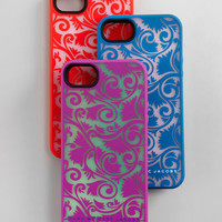 Tootsie Flower Silicone iPhone 5 Case