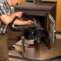 Fireplace Stainless Steel Ash Vacuum - Plow & Hearth