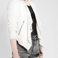 BB Dakota Adams Drapey Blazer