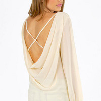 Madeline X Back Blouse $29