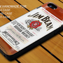 Jim Beam Kentucky Straight Bourbon Whiskey - iPhone 4 / 4s or iPhone 5 Case - Hard Case Print - Black or White Case - Please leave message