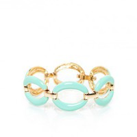 Elle Bracelet in Mint - ShopSosie.com