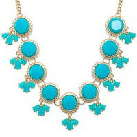 Summerlin Necklace in Teal - ShopSosie.com