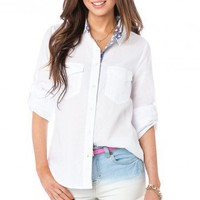Aldridge Button Down - ShopSosie.com