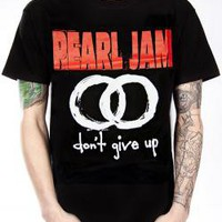 Pearl Jam, T-Shirt, Don't Give Up
