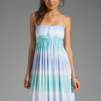 Tiare Hawaii Jasmine Maxi Dress in Blue
