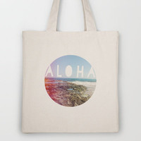 Aloha Tote Bag by Sunkissed Laughter