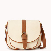 Canvas Saddle Bag | FOREVER 21 - 1052043840