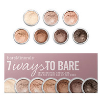 bareMinerals &#x27;7 Ways to Bare&#x27; Eyecolor Collection ($77 Value) | Nordstrom