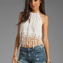 Tiare Hawaii Positano Top in Off White from REVOLVEclothing.com